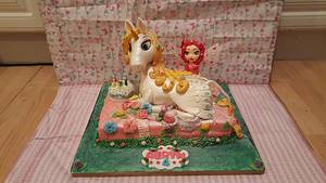 Mia and me onchao cake - Cake by Lucy