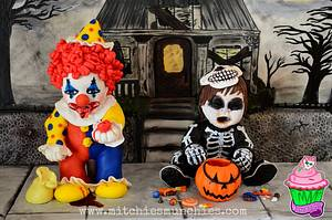 Tricked Treaters - Cake by Chef Mitchie