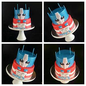 Transformers - Cake by Mmmm cakes and cupcakes
