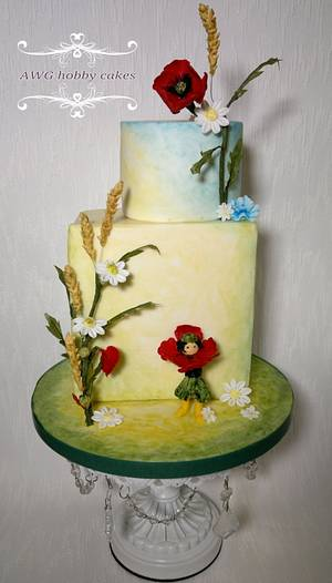 "Enid Blyton Collaboration ""Poppy"" - Cake by AWG Hobby Cakes"