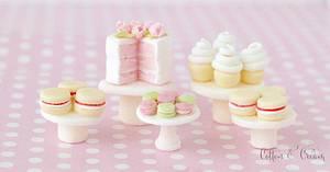 Tiny cakes - Cake by Cotton & Cream