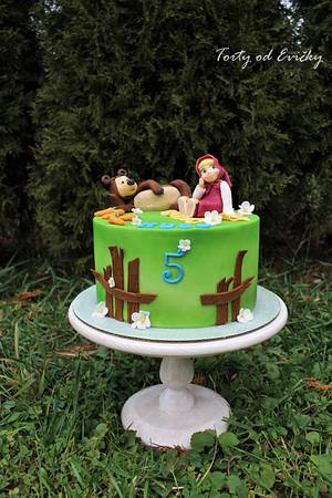 Masha for Hugo  - Cake by Cakes by Evička