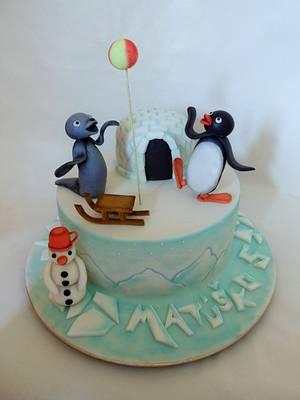 Pingu - Cake by Veronika