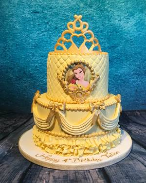 Beauty and the beast - Belle - Cake by Maria-Louise Cakes