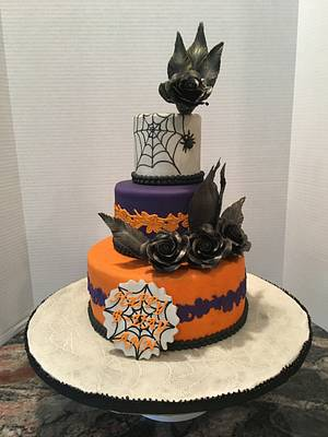 Halloween Birthday Cake - Cake by Pinkvelvet