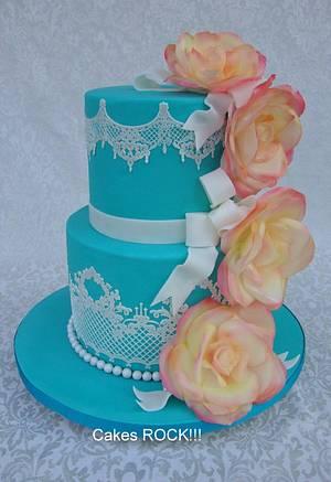 A 'Tiffany' for Tiffany - Cake by Cakes ROCK!!!