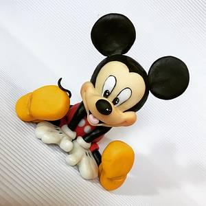 Mickey Mouse cake topper - Cake by Branka Vukcevic