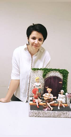 Alice harikalar diyarında 2000'li yıllarda  - Cake by Asuman Dağbaşı @cakesofasu