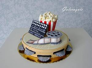 Cinema and tambourine - Cake by Gardenia (Galecuquis)