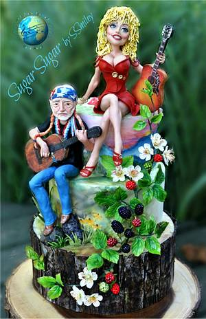 Country Music - Cake by Sandra Smiley