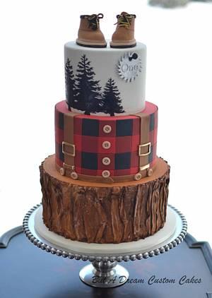 Lumberjack Cake - Cake by Elisabeth Palatiello