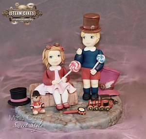 BABY ROYAL STEAMPUNK - Cake by Marilu' Giare' Art & Sweet Style