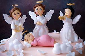 The blessed child - Cake by Zoeys Bakehouse