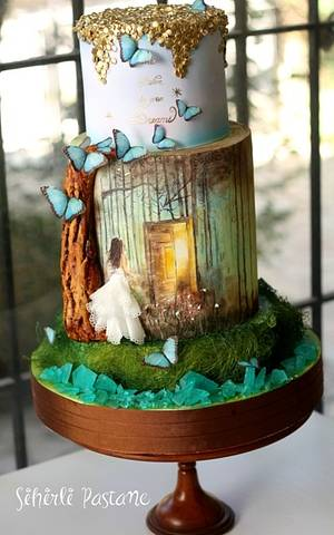 Belive in your DREAMS...Cake - Cake by Sihirli Pastane