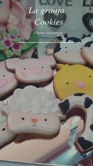 La granja - Cake by Claudia Smichowski