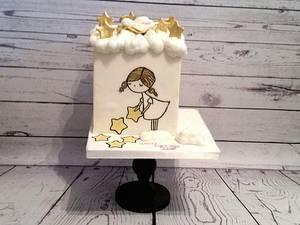 Sweet art for worldlightday 2016 collaboration - Cake by Taartvandreapeldoorn