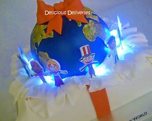 Christmas Around the World - Cake by DeliciousDeliveries
