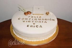 Happy Confirmation!  - Cake by Elisos