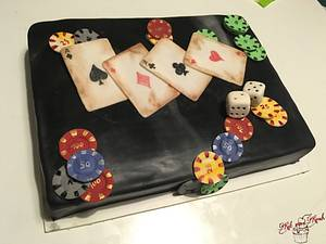 Life is a gamble  - Cake by KaetvanKirsch