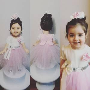 Little girl - Cake by Tuba Fırat