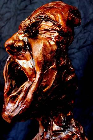 The scream - Cake by Dorothy Klerck