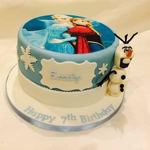 Frozen! - Cake by Mimi's Sweet Treats