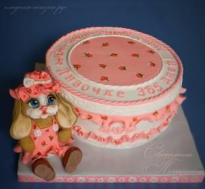 Cake with bunny - Cake by Svetlana