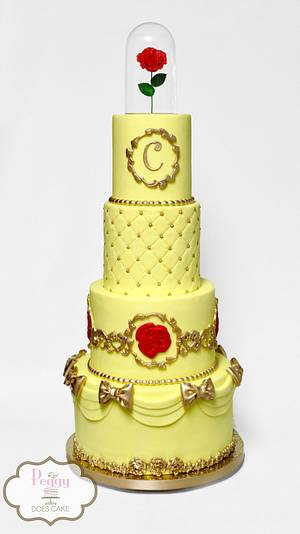 Beauty and the Beast - Cake by Peggy Does Cake