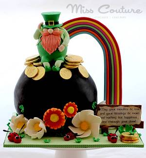 Tiddly Hee, Tiddly Ho! Happy St Patrick's Day to One & All! - Cake by misscouture