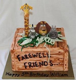Madagascar Cake - Cake by lostincakes