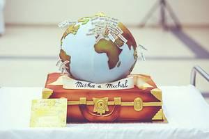 Travel WeddingCake - Cake by Art Bakin'