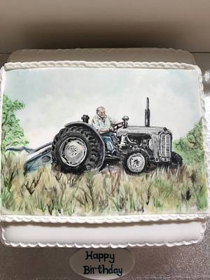 Massey Ferguson cake - Cake by CCC194