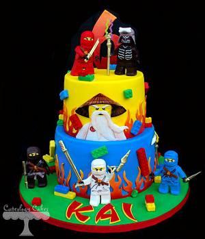 Ninjago Cake  - Cake by Cuteology Cakes