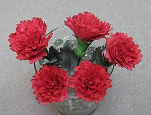 Red Carnations MBalaska 10-4-2016 - Cake by MBalaska