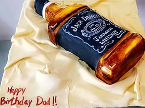 Jack Daniel's  - Cake by Juhi goyal