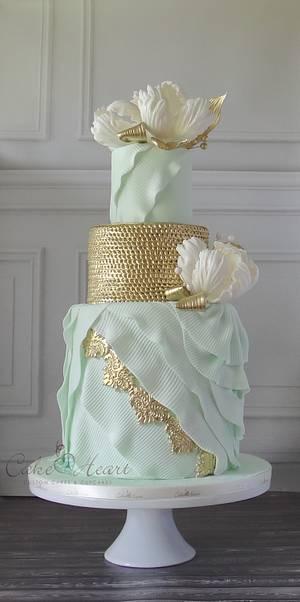 mint romance - Cake by Cake Heart