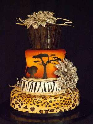 hymn to africa - Cake by cindy