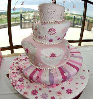 Quinceañera cake! - Cake by Monika Zaplana