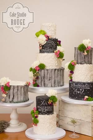 Romantic wedding cakes - Cake by Ceca79