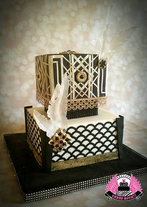 'Young & Beautiful'  - Cake by Cakes ROCK!!!