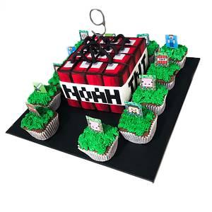 Minecraft TNT cake - Cake by At Piece
