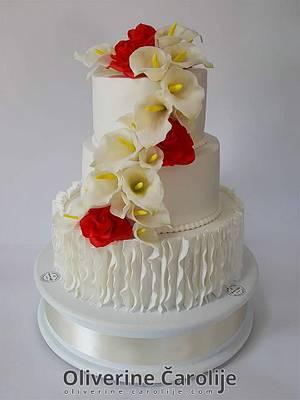 Wedding Cake  - Cake by Oliverine Čarolije