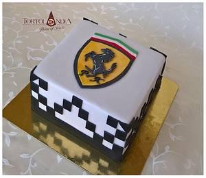Ferrari - Cake by Tortolandia