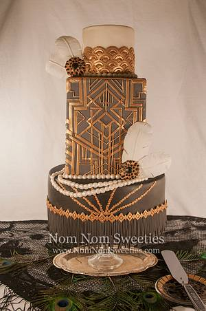 Great Gatsby Cake - Cake by Nom Nom Sweeties