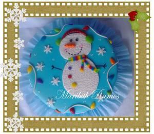 navidad - Cake by Maribith Ramos