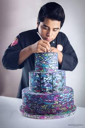 Art cake - Cake by Cesar Renteria Cakes