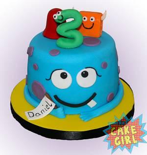 Little Monsters Cake - Cake by Rachel White