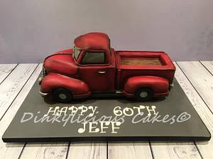 Chevrolet Truck Cake - Cake by Dinkylicious Cakes