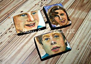 The McFlys / Back to the Future cookies - Cake by Ahimsa