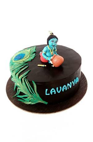 Little Krishna - Cake by Minna Abraham